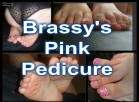 [Image: Pink Pedicure for Foot Fetish Zebra Print Pink toes 59 HD photos and videdo clip]