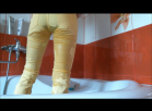 [Image: Wetting yellow jeans HD]