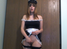 [Image: Maid Has To Masturbate For Master]