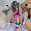 [Image: Little Daisy makes dada cum with a handjob POV]