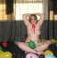 [Image: Playing in Confetti and Balloons 68 Photos]